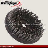 D200mm Steel Wire Rope Brush for Stone Grinding and Polishing