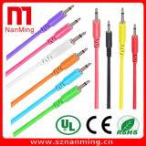 3.5mm 1/8 Male Mini Plug to Male Mini Plug Mono Audio Cable