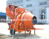 Top Quality Topmac Brand Wire Rope Hoisting Concrete Mixer
