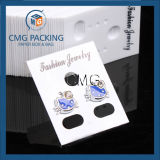 Clear PVC Plastic Jewelry Earring Display Cards