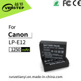 1080mAh Digital Camera Battery for Canon Lp-E12