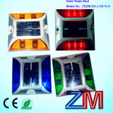 Ce Approved Aluminum Alloy Solar Road Stud / LED Flashing Road Marker