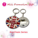 Cheapest Keychain Key Ring Metal Iron with Bottle Opener 2in1 Function