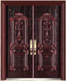 Exterior Door China Door Security Iron with Cast Aluminium Door (EP001)