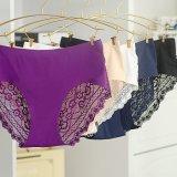 Wholesale One-PC Laser Cut Ladies Lace Briefs Panties