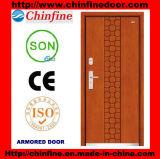 High Qualitysteel-Wood Armored Doors (CF-M042)