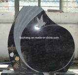 China Polished Black Granite Monument for Granite Memories