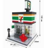 Children Education DIY Building Block Toy 10253006