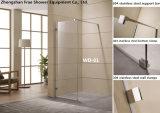 Walk in Shower Door for Hotel Shower Fixed Glass Shower Door Shower Panel