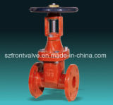 Awwa Ductile Iron Resilient Seated Rising Stem Gate Valve