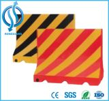 Used Road Traffic Safety Water Filled Plastic Barrier