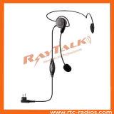 Behind The Head Headset for Kenwood 2 Pin Radios Tk208/Tk240