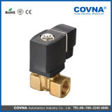 2 Way Pilot Brass Mini Water Gas Solenoid Valve