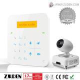 Home Security GSM Burglar Alarm with IP Camera Working