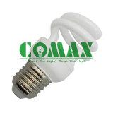 Tri-Color CFL Lighting T2 Half Spiral Series Energy Saving Lamp