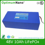 High Quality Safety 48V 10 Ah LiFePO4 Electrical Scooter Battery