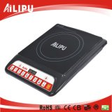 Small size single burner press button induction cooker