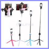 Flexable 3 in 1 Multi-Functional Universal Mini Monopod Bluetooth Selfie Stick with Tripod for Smart Phone iPhone Samsung