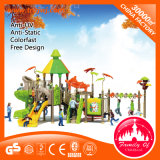 Competitive Price Amusement Park Plastic Outdoor Playground