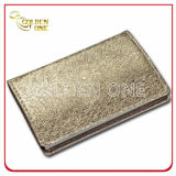 High Quality Gold Fold Pattern Leather Card Case