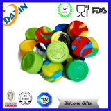 Fashiona Silicone Customized Bho Oil Container Silicone DAB Jars Container