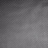 Round DOT Punched Synthetic PU Garment Leather Perforated Fabric