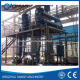 Stainless Steel Titanium Vacuum Film Evaporation Crystallizer Waste Water Effluent Treatment Plant Sodium Sulfate Distillation