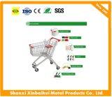 The High Quality European 100 Liter Supermarket Shopping Trolley Cart