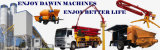 Top! 29m 33m Stationary Hydraulic Auto Lifting Concrete Placing Boom Distributor
