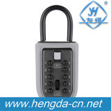 Portable Padlock 10-Digit Key Lock Keysafe Safe Key Storage Box