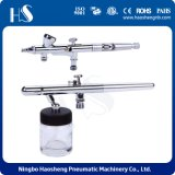 China Factory Airbrush Kit with Two Dual Action Airbrush