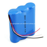 Rechargeable LiFePO4 Li-ion 18650 11.1V Battery