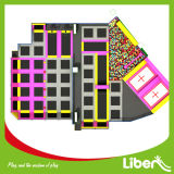Large Commercial Indoor Trampoline Park with Dodgeball Court