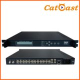 4 CH SD DVB-C 4cvbs+Audio and DVB-C RF Input Integrated Encoder Modulator