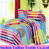 320cm Floral Printed Bedsheet of 100% Poly Pongee Fabric
