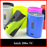 Silicone Cigarette Protect Skin/Sleeve/Case with Multi Color Choice for Istick 200W Wholesale From Shenzhen