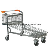 Carry Trolley with Wire Mesh Base