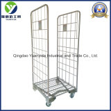 Special Frame Base Zinc Plated Roll Container