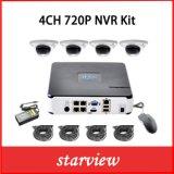 New 4CH H. 264 NVR 720p 960p 1080P IP Camera NVR Kits