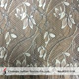 Fashion Black Nylon African Lace Fabric (M2213-M)
