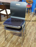 Black Bentwood Stackable Restaurant Chair with Pad (FOH-SBC01)