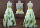 Painted Ladies Bra Fashion Beaded Evening Dresses, Prom Dress, Tailored