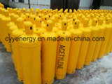 40 Liter Acetylene Gas Vessel Stainless Steel Gas Cylinder with ISO Standard
