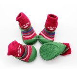 christmas Pet Accessories Indoor Dog Sock Shoes, Indoor Dog Product