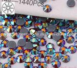 2018 Newest Best Selling Ss16 Dark Siam Ab Hot Fix Rhinestone Glass Crystal Copy Preciosa Stone (HF-ss16 dark siam ab /5A grade)