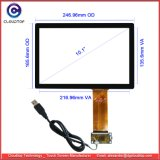 """10.1"""" USB Interface Capacitive Touch Screen for Monitors, Displays, Tablets and Computers"""