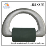 Drop Forged Hot DIP Galvanized D-Ring with Strap
