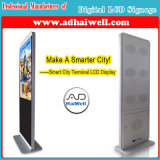 Hight Quality TFT LCD Media Players Digital Touching LCD Signage