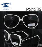 Fashion White Slim Children Kid Plastic Sunglasses (PS1335)