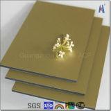 Gold 2015 ACP Aluminum Composite Panel Material
